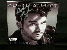 Adam Lambert Signed Original High Cd Booklet Only Queen Autograph 100% Real