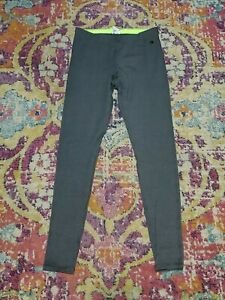 NWOT CHAMPION AUTHENTIC Size S Gray Leggings Activewear Workout Gym Exercise