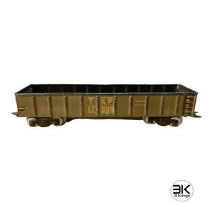 Marx 17899 Texas & Pacific (T&P) Gondola Car Metal Prewar