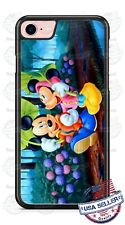 Disney Mickey Mouse Minnie Walk in Rain Phone Case Cover For iPhone Samsung etc