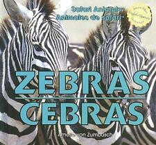 Zebras/ Cebras (Safari Animals / Animales De Safari)-ExLibrary