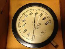 Vintage Ashcroft Header Pressure Gauge 1000 Psig