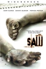 Saw - Widescreen - DVD - Cary Elwes - Danny Glover - Monica Potter