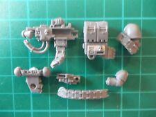 Warhammer 40K - Space Marine Devastator squad Heavy Bolter - 40k bits