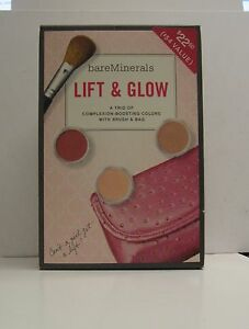 bareMinerals Lift & Glow 4-piece Kit with Cosmetic Bag