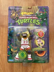 White Jersey Slam Dunkin Don TMNT Playmates vintage Donatello rare grail