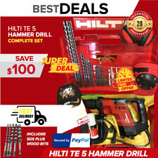 Hilti Te 5 Hammer Drill Excellent Condition Free Bitschisels Free Shipping