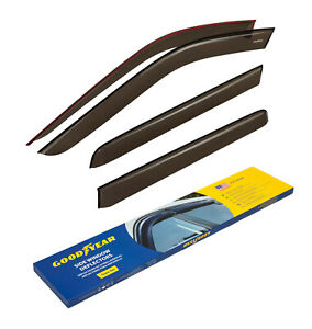 Goodyear Rain Guards Vent Visors for Ford Explorer 2002-2010 Tape-on 4 pieces