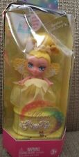 BARBIE MAGIC OF THE RAINBOW TOOTH FAIRIES DOLL YELLOW 2006 K8143 *NU*