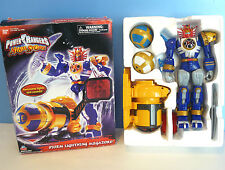 "POWER RANGERS Ninja Storm 11"" STORM LIGHTNING MEGAZORD (2003) NEW In Opened Box"