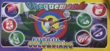 Chequemania Futbol Colombiano - Album INCOMPLETE