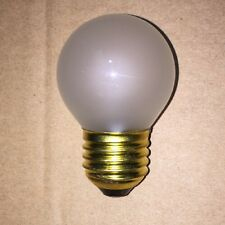 5 x Calex 15w E27 Frosted Glass Golf Ball Vintage Bulb