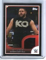 WWE Kevin Owens 2016 Topps RTWM Event Used Shirt Relic Card SN 7 of 350