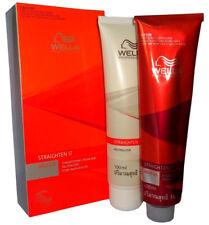 100% GENUINE WELLA WELLASTRATE Permanent Hair Straightening Cream Kit Straight+