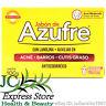 JABON DE AZUFRE SULPHUR BAR SOAP ACNE BARROS CUTIS GRASO LANOLINA 100 GR 3.5 OZ