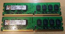 Kingston 1GB KVR800D2N5/1G PC2-6400 800MHz Cl5 2 GB Kit