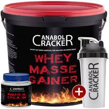 WEIGHT MEGA JUMBO MASS GAINER - 3Kg Eiweißshake + Anabol Creatin + Proteinshaker