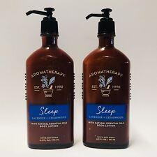 2 Baño & Cuerpo Work Aromaterapia Sleep Lavanda Cedro Loción para Cuerpo 192ml