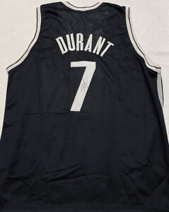 Kevin Durant Signed Autographed BROOKLYN NETS Jersey with COA