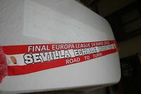 BUFANDA  FUTBOL FINAL EUROPA LEAGUE SEVILLA FC ECHALE HUEVOS COTIZADA  SCARF