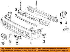 HONDA OEM Prelude Front Bumper-Reinforcement Mount Bracket Right 71150SF1A01ZZ
