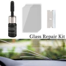 Car Window Glass Crack Chip Resin Windscreen Windshield Repair DIY Tool Kit Pro