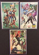 AVENGERS Comic Books Variant J. SCOTT CAMPBELL Covers Marvel NM