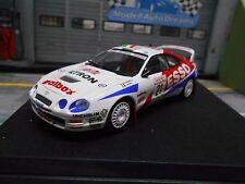 Toyota Celica gt4 st205 rally WM san remo 1996 #21 pianezzola esso Trofeu 1:43