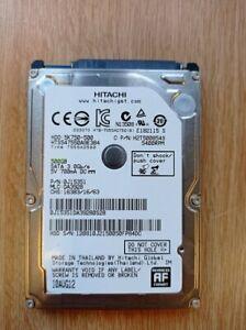"""Hitachi 500Gb 2.5"""" Laptop Sata HDD Hard Disk Drive 5K750-500 HTS547550A9E384"""