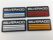 2pcs Cab Emblem Badge Side Roof Pillar Decal For Chevy Silverado Suburban Taho