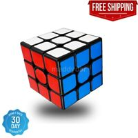 Rubiks Cube 3x3 Original Brain Teaser Puzzle Strategy w/ Stand