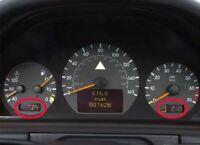 2001 - 2004 Mercedes Benz C Class LCD Display Cluster Repair CA SELLER
