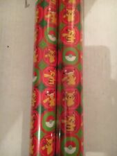 Pokemon Gift Wrap 8 Meter Wrapping Paper Roll Xmas