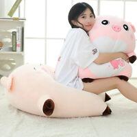 Flexible Giant Gifts Plush Pig Animal Pillow Toy Stuffed Cute Soft Cushion Doll