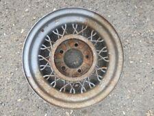 17x4 Original Buick Model 60/80/90 Steel 40 Spoke Wire Wheel - Single