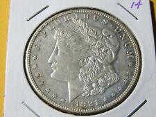 1921-S Morgan Silver Dollar #14 No Reserve - AU
