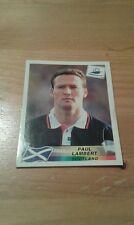 N°41 PAUL LAMBERT # SCOTLAND PANINI FRANCE 98 WORLD CUP ORIGINAL 1998