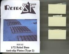 RetroKits Models 1/72 REBEL BASE ANTI-SLIP PLATES TYPE 2 (3) Star Wars