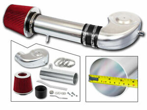 AIR INTAKE Kit + RED Filter For 88-95 GMC C/K/R/V Suburban 1500 2500 4.3 5.0 5.7
