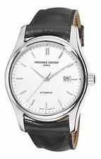 Frederique Constant Index Automtaic FC-303S6B6 Men's 43mm Silver Dial Watch