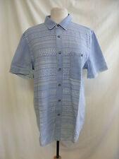 Topman Men's Regular Short Sleeve Casual Shirts & Tops
