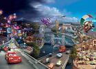 chambre d'enfants Décoration Murale Papier Peint DISNEY CARS QUATRE ROUES monde