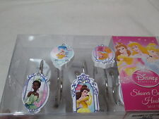 New Disney Princess Shower Hook Set of 12 ~ Bell, Cinderella, Sleeping Beauty