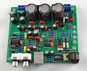 New DIY KIT CS4398 +CS8416 24bit/192KHZ DAC USB optical Input SC