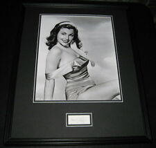 Faye Dunaway Bonnie & Clyde Signed Framed 16x20 Photo Poster Display