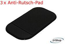 3 x Anti Rutsch Matte Haft Pad Handy Pads Antirutsch-Pad Halterung Schwarz NEU