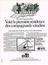 PUBLICITE  1970   SPEI EIDI  la VILAUBOIS