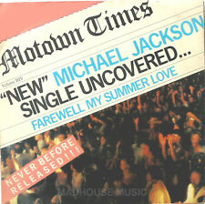 "MICHAEL JACKSON  7"" Farewell My Summer Love Near MINT UK Orig. 1984"