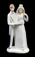 9942345 Porzellan-Figur Brautpaar Tortenfigur Hochzeit Wagner & Apel H22cm