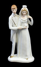 Bomboniera in Porcellana Sposi torta Matrimonio Wagner & Apel H22cm 9942345
